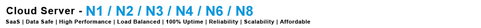 Cloud Server Packages: N1-N8